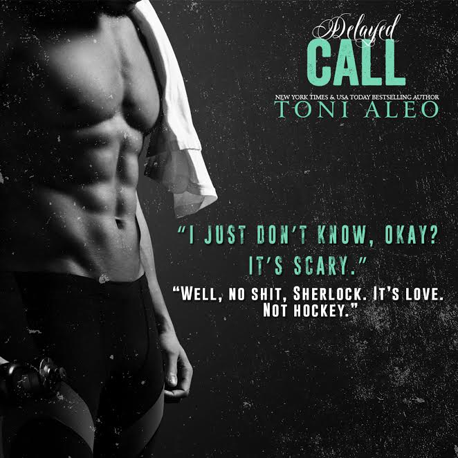 Here's a little teaser for Toni Aleo's Delayed Call